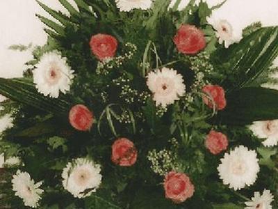 wieniec z kwiatami